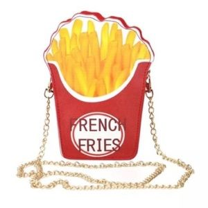 FRIES OVER GUYS PURSE🍿
